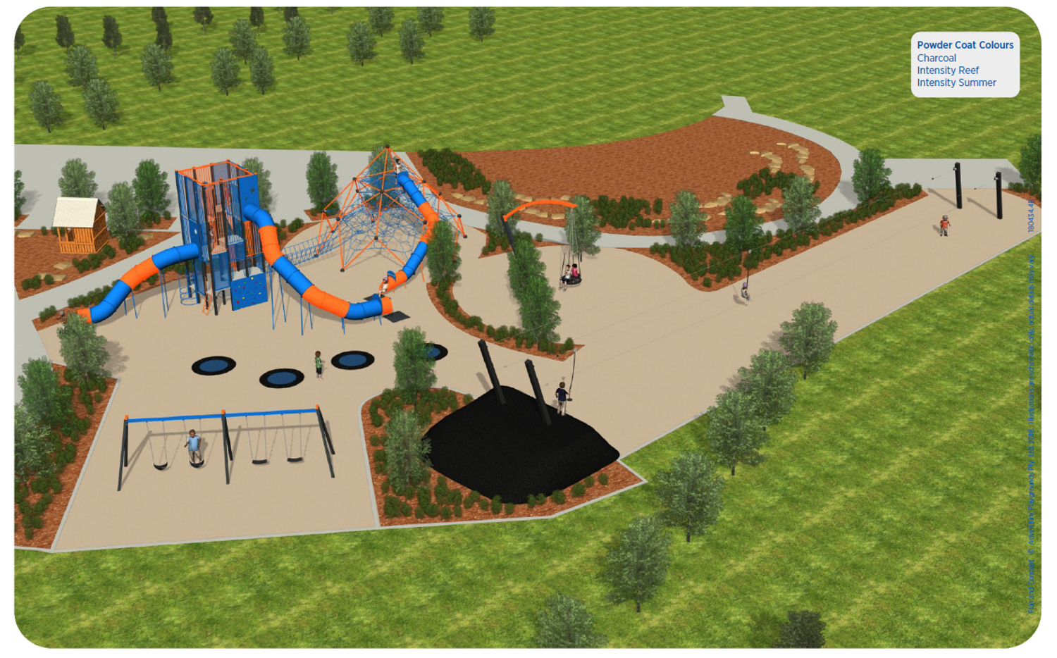 Barooga Adventure Park Concept Plan (Stage 1 & Stage 2)