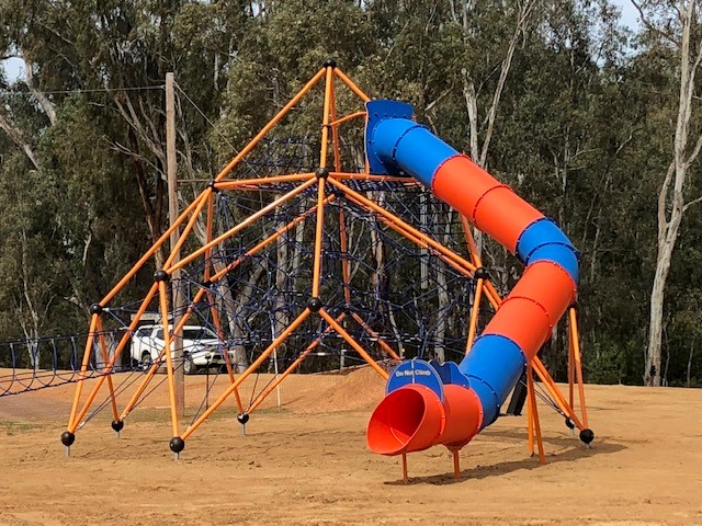 Mt Ambition Plus steel frame rope climbing structure