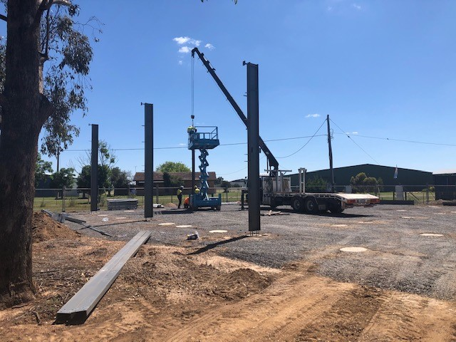 tocumwal-aviation-museum-construction 5