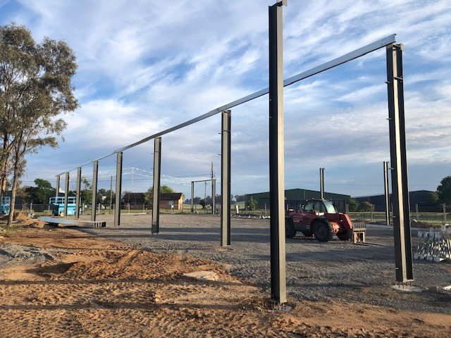tocumwal-aviation-museum-construction 6
